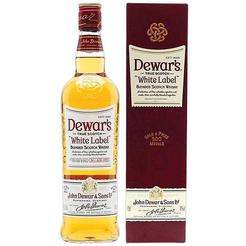 Віскі Dewars White Label 40% 0,7л
