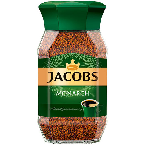 Кава Jacobs Monarch розчинна 190г