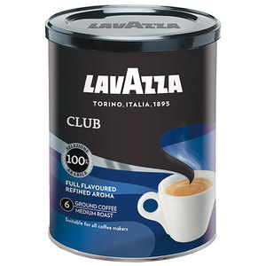 Кава Lavazza Club смажена мелена ж/б 250г