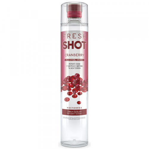 Настоянка Fresh Shot Granberry 28% 0,5л