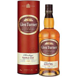Віскі Glen Turner Heritage Double Cask 40% 0,7л в тубусі