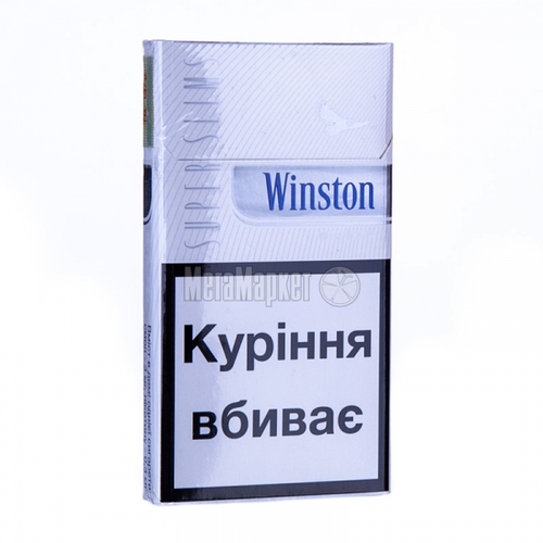 Сигарети Winston Super Slims Silver