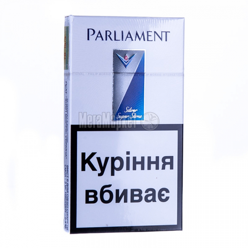 Сигарети Parliament Super Slims Silver